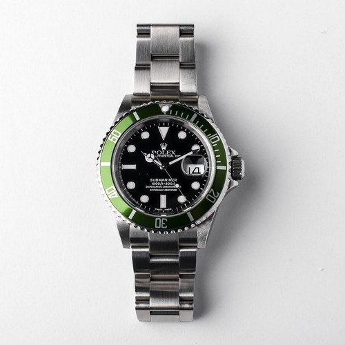 Rolex Green Kermit Submariner Ref 16610LV Circa 2007