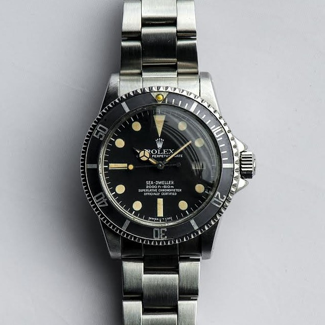 Rolex Sea-Dweller Ref 1665 Mark1 with Ghost bezel insert Circa 1977