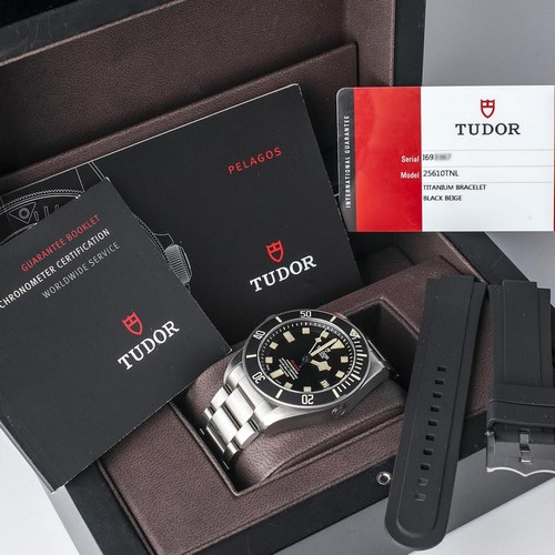 Tudor Pelagos LHD Destro Titanium Circa 2017