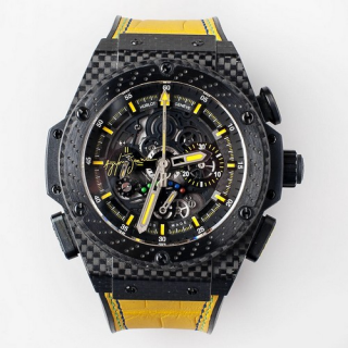 Hublot King Power CARBON Ltd 500pcs Ayrton Senna