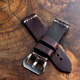 Horween Chromexcel Brown Leather Strap 24mm