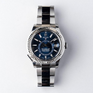 Rolex Oyster Perpetual Sky-Dweller Steel BLUE dial Circa 2018