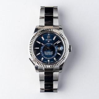 Rolex Oyster Perpetual Sky-Dweller Steel BLUE dial Circa 2019