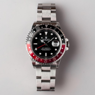 Rolex GMT Master II COKE Ref 16710 Transitional SWISS dial Circa 1998