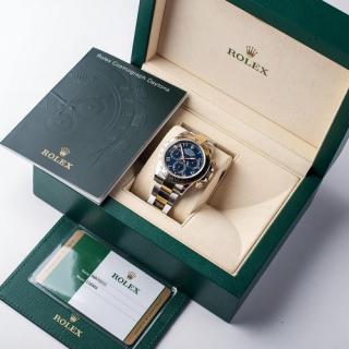 Rolex Daytona Blue Racing dial Ref 116503 Circa 2016