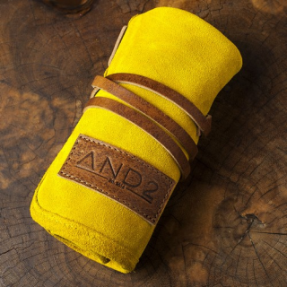 AND2 Suede Leather Watch Roll